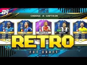 RETRO FIFA 17 FUT DRAFT! OP LOW DRIVEN SHOTS! | FIFA ULTIMATE TEAM