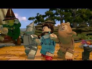 LEGO Dimensions - Part 2 - The Wizard of OZ (Follow the LEGO Brick Road) - 2 Player