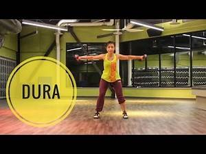 """Dance Toning w/ Diny - """"Dura"""" (Daddy Yankee) - ZT: Upper back & Chest"""