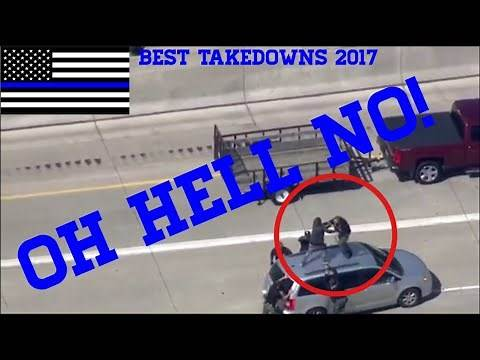 Best Cop Takedowns 2017 | That's Gotta Hurt Compilation