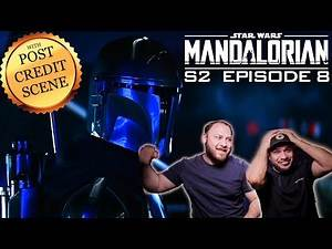 These CHILLS Will NEVER Go Away!! - The Mandalorian S2 Ep 8 Post Credits Scene REACTION