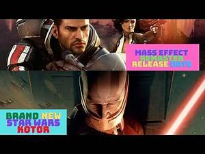 Mass Effect Legendary Edition Release Date Revealed? New Star Wars Knights of The Old Republic in..