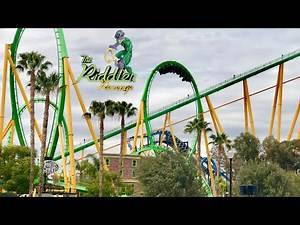 Riddler's Revenge Off-Ride HD POV Six Flags Magic Mountain