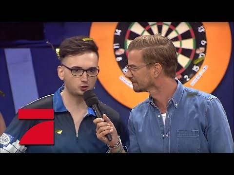 Finale: MarcelScorpion & Martin Schindler vs. Ruth Moschner & Peter Wright | Promi Darts WM