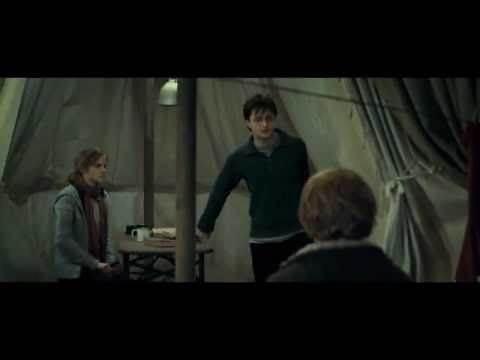 Ron Fights Harry Scene - Deathly Hallows Part 1