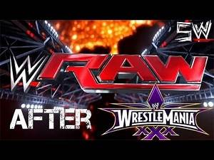 SWE Raw After Wrestlemania 2