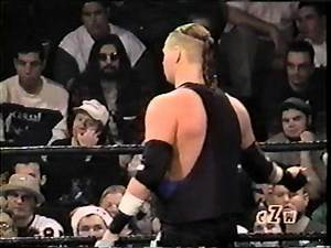 ZBARR vs Mad Man Pondo Cage Of Death 3-ECW ARENA DEBUT 12-15-2001
