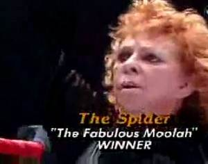 Wendi Richter vs. Spider Lady - The Screwjob