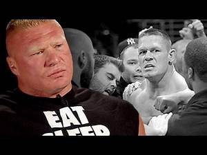 Brock Lesnar lays out his plan for John Cena at Night of Champions: Sept. 17, 201