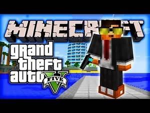 "Minecraft GTA 5 Mod - Episode #3 w/ Ali-A! - ""BEST GUN EVER!"""