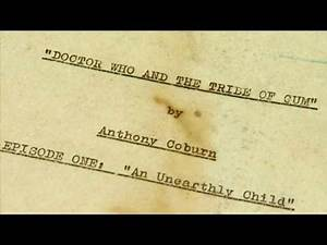 Historic 'Doctor Who' Script SOLD to the Highest Bidder!
