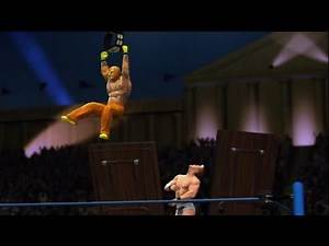 WWE '13 Wrestlemania 29: Sin Cara & Rey vs Y2J & Christian (Tag Championship TLC Match) Part 3/11