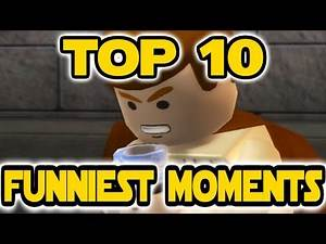 Top 10 Funniest Moments in Lego Star Wars