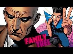 Xavier Family Tree (X-Men / Legion)