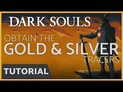 Dark Souls - How to get the Dark Silver & Gold Tracer + the Lord's Blade Armor Set (DLC)