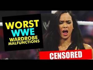 10 Wardrobe malfunctions WWE Doesnot Want You to See
