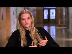 Carrie: Gabriella Wilde On Set Movie Interview