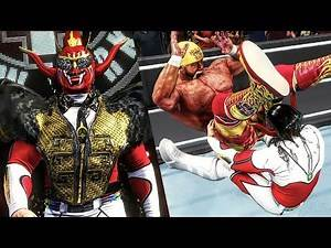 WWE 2K20 Creation of The Day | Jushin Liger Entrance & Finisher (NJPW, NXT, ROH)