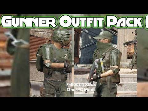 Gunner Outfit Pack (STANDALONE) Fallout 4 Xbox One/PC Mods