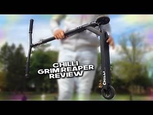 Chilli Pro Grim Reaper Scooter Review - Vlogisode #9
