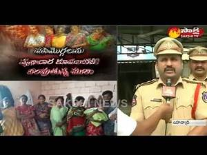 11 Minor Girl Forced Into Prostitution | Yadagirigutta CI Ashok Kumar Face to Face - Watch Exclusive