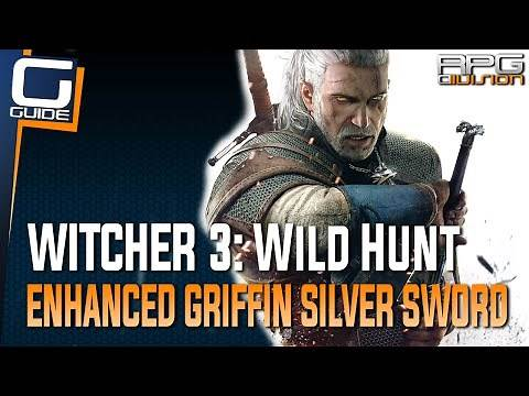 Witcher 3: The Wild Hunt - Enhanced Griffin Silver Sword Diagram Location (Griffin School Gear)