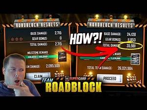 HOW TO GET CRAZY SCORES IN TEAM ROADBLOCK!! FIRST EVENT PROGRESS! | WWE SuperCard Season 6