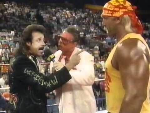 Brother Love Show With Hulk Hogan & Jimmy Hart At Summerslam Fever 1990