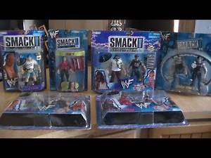 WWF SMACK DOWN LIVE FIGURE UNBOXING AND COLLECTION REVIEW!