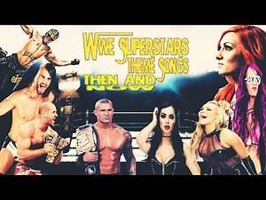 WWE Superstars Theme Songs: THEN AND NOW | 2019 | EN/ESP