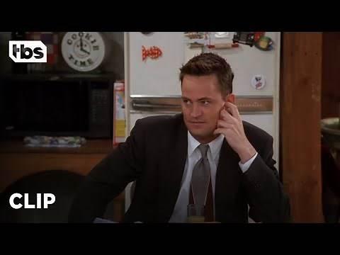 Friends: Chandler Kisses All the Girls Goodbye (Season 5 Clip) | TBS
