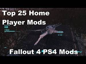 Top 25 Fallout 4 Player Home Mods (PS4)