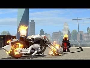 Ghost Rider Vs Dormammu - Lego Marvel Super Heroes Game