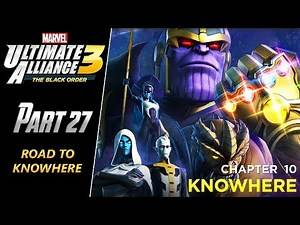 Marvel: Ultimate Alliance 3 - Walkthrough Part 27: Road To Knowhere
