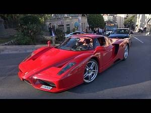 Ferrari Enzo - Exhaust Sounds in Monaco!