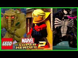 LEGO Marvel Superheroes 2 NEW Characters And Trailer (Gamescon Coverage)
