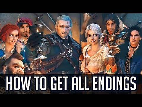 Witcher 3: How to Get All Endings (Including Every DLC Ending)