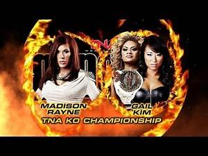 Knockouts Championship Match: Gail Kim vs Madison Rayne - [TNA, 01.16.2013]