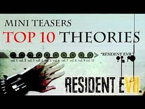 RESIDENT EVIL 7 - TOP 10 New Mini Teaser Trailer Theories - RE7 Chainsaw, Watch, Zombies?