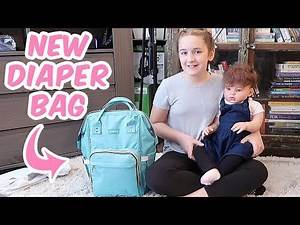 What's in My New Reborn Baby Doll Diaper Bag?