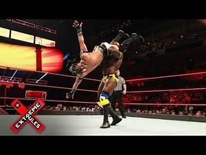 Kalisto takes to the air against Apollo Crews: WWE Extreme Rules 2017 Kickoff Match