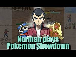 Playing as GYM LEADER NORMAN! | Pokemon Showdown All-Stars (feat. Discord Crew)