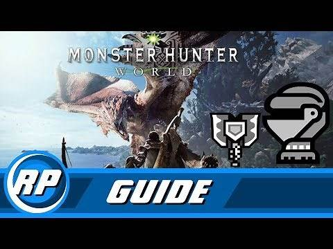 Monster Hunter World - Charge Blade Armor Progression Guide (Obsolete by patch 12.01)