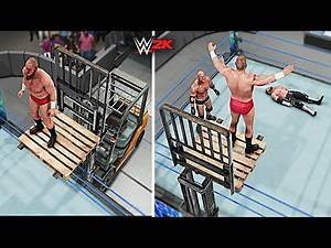 Top 10 Incredible High Flying Finishers | WWE 2K