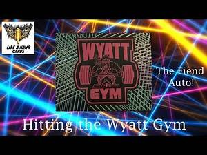 Unboxing the Wyatt Gym Funhouse Box - Fiend Auto!