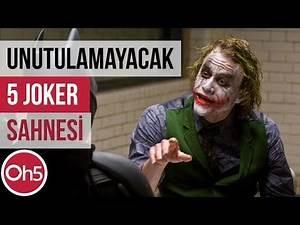 Unutulmayacak En Eğlenceli 5 Joker Sahnesi 🃏 Joker Film ve Animasyonları 2018
