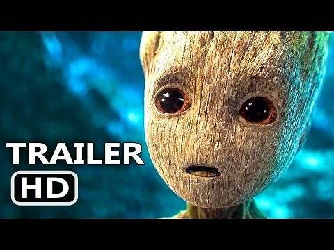 GUARDIANS OF THE GALAXY 2 Official Trailer (2017) Action Blockbuster Movie HD