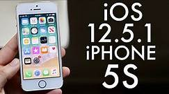 iOS 12.5.1 On iPhone 5S! (Review)
