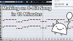 Attempting to Make an 8-Bit Video Game Theme in 10 Minutes || Shady Cicada