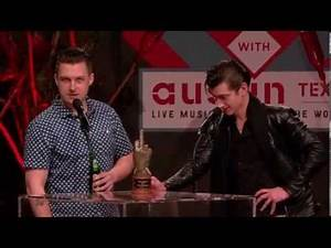 Arctic Monkeys - Best Live Band at NME Awards 2014